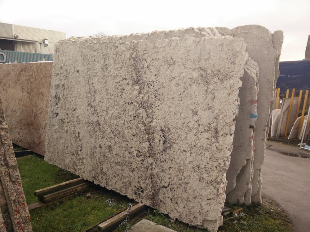 Bianco Galaxy Granite Slabs