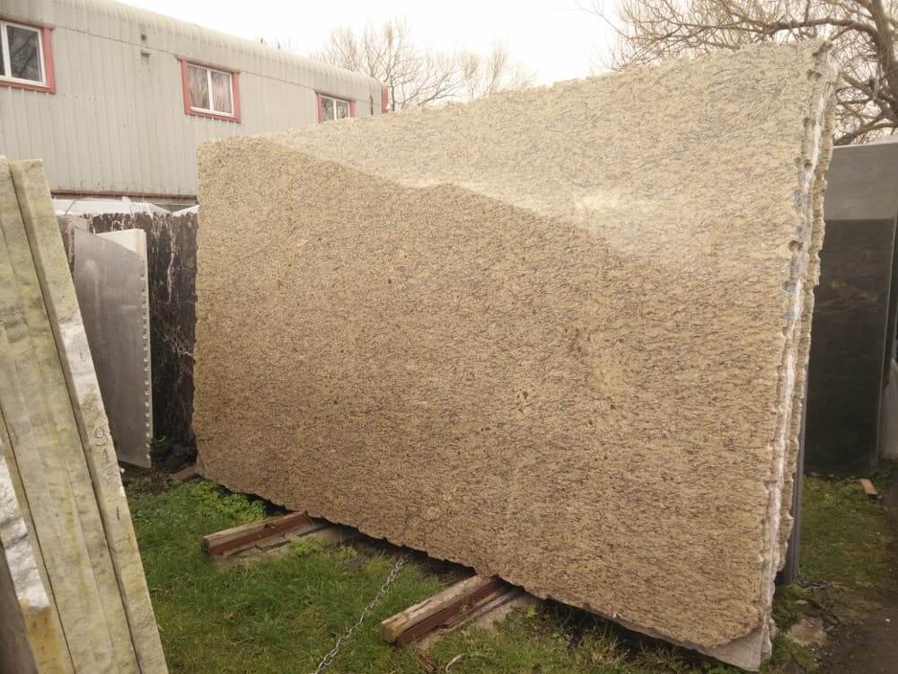 Giallo Granite Slabs