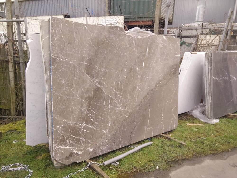 King Brown Marble Slabs