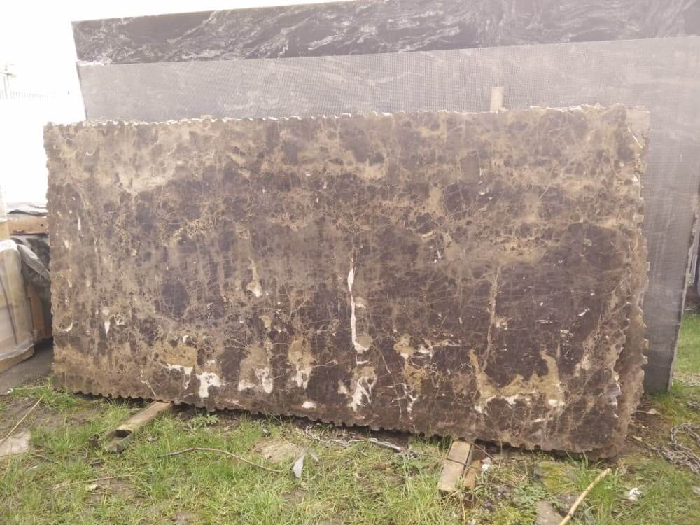 Marron Imperial Marble Slabs