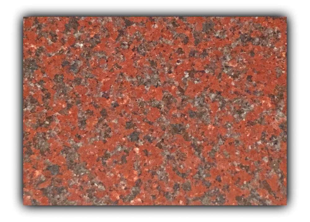 New Imperial Red granite tiles