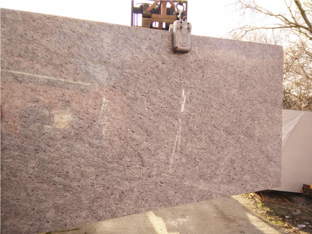 New Kashmir White Granite Slabs