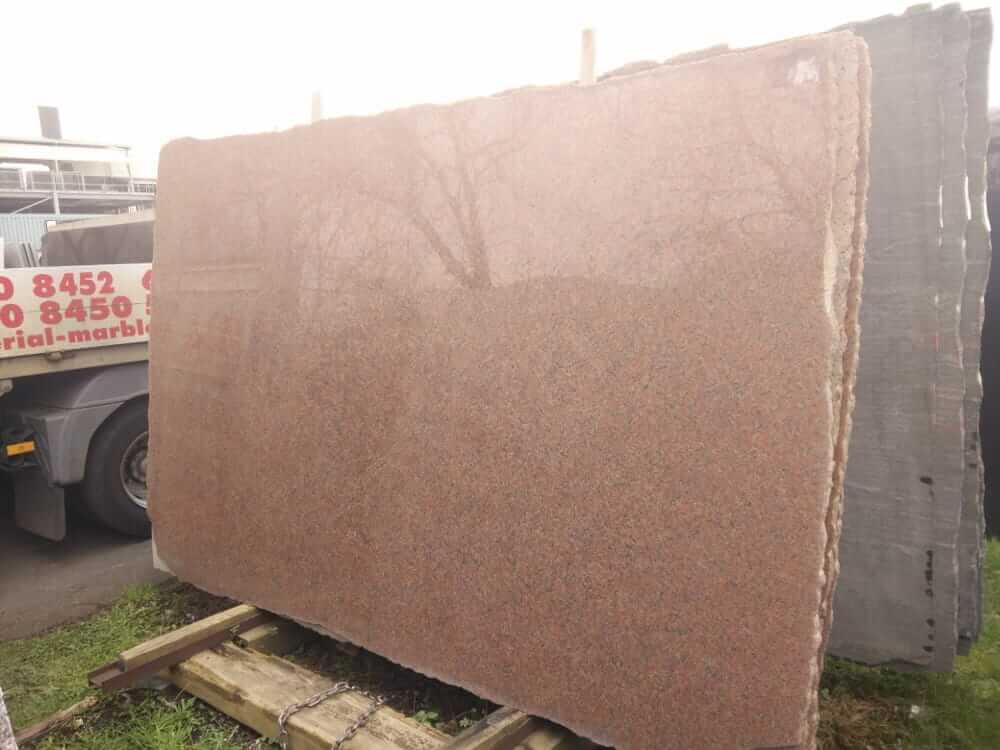 Rosa Balmoral Granite Slabs