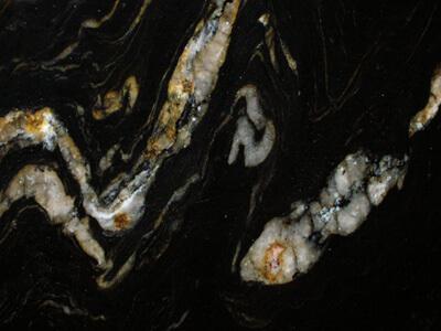 Cosmic Black granite tiles