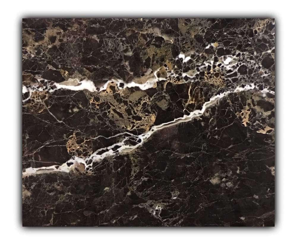 Portoro Brown marble tiles