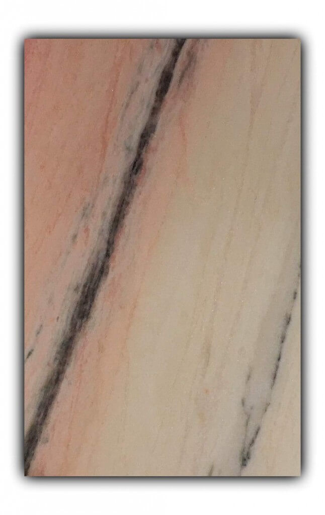 Rosa Aurora marble tiles