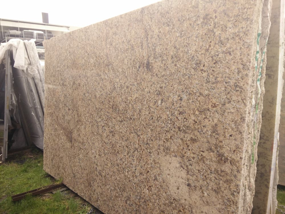 New Venetian Gold Granite Slabs