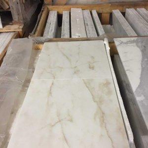 Calacatta Cremo Marble Tiles 30.5x30.5