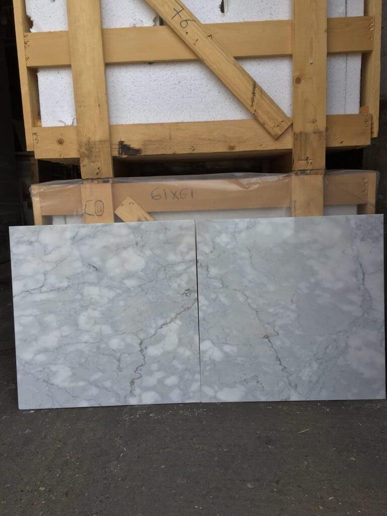 Calacatta Cremo Marble Tiles 61x61