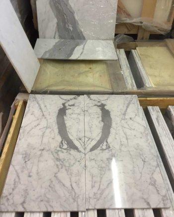 Carrara Marble Tiles 61x30.5