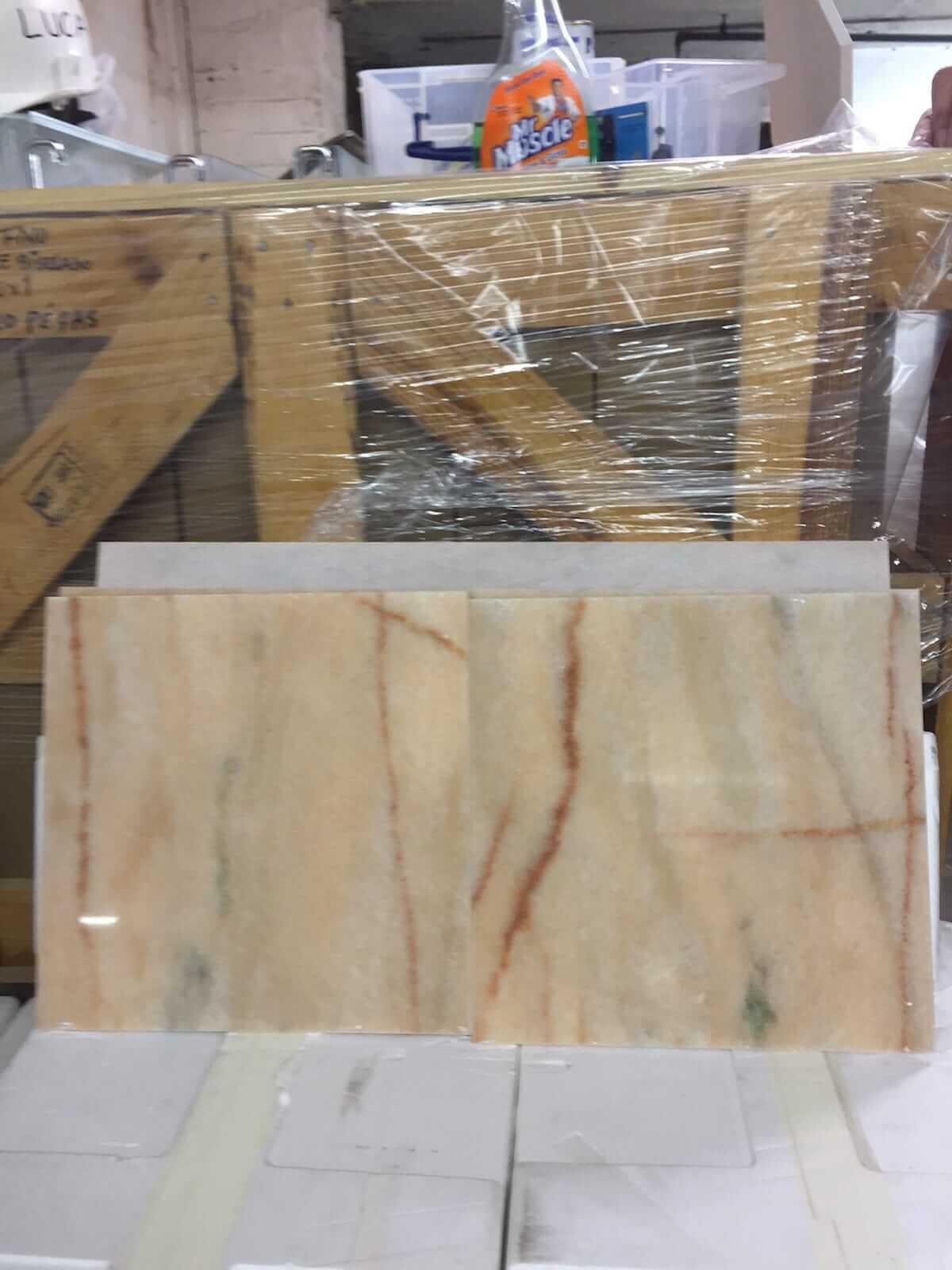 Rosa Aurora Marble Tiles 30.5x30.5