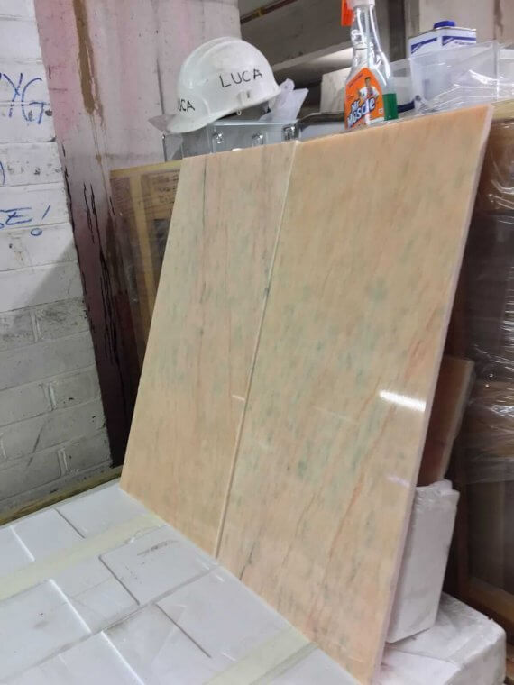 Rosa Portugala Pink Marble Tiles 61x30.5