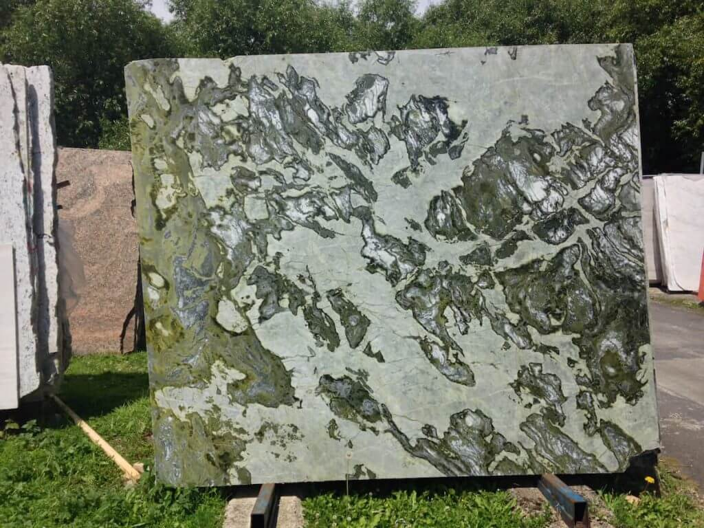 Atlantis Green Marble Slab