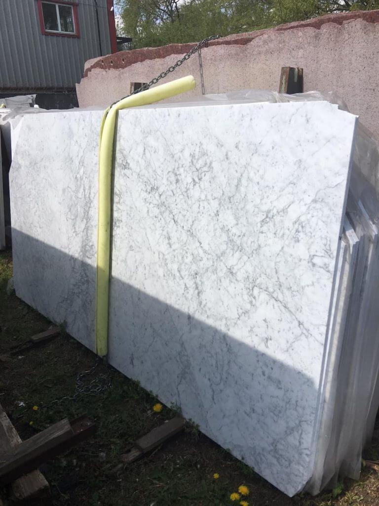 Carrara Marble Slabs 2cm