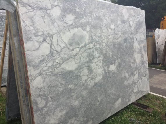 Bianco Eclipsia Quartzite Slabs 3.1 x 1.9