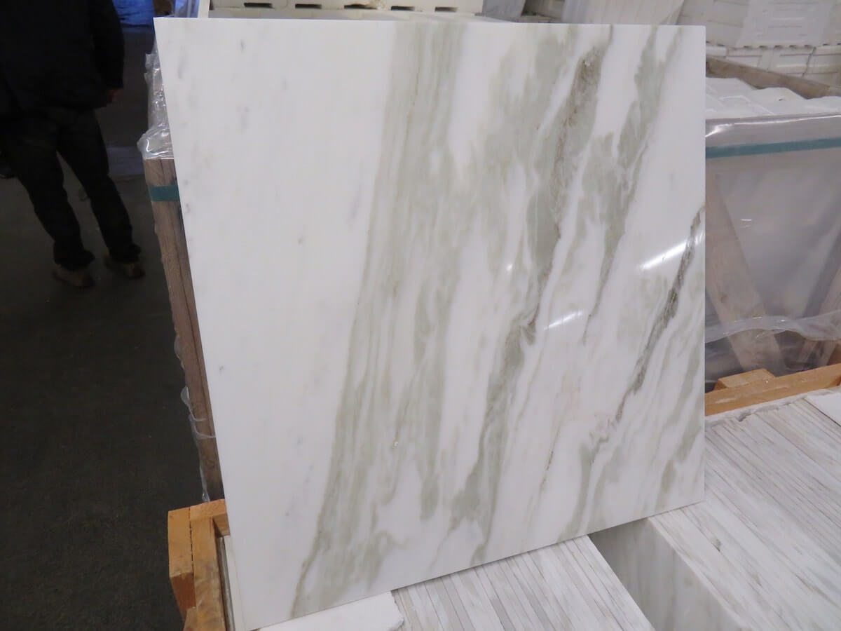 Calacatta Verde Marble Tiles 610x610