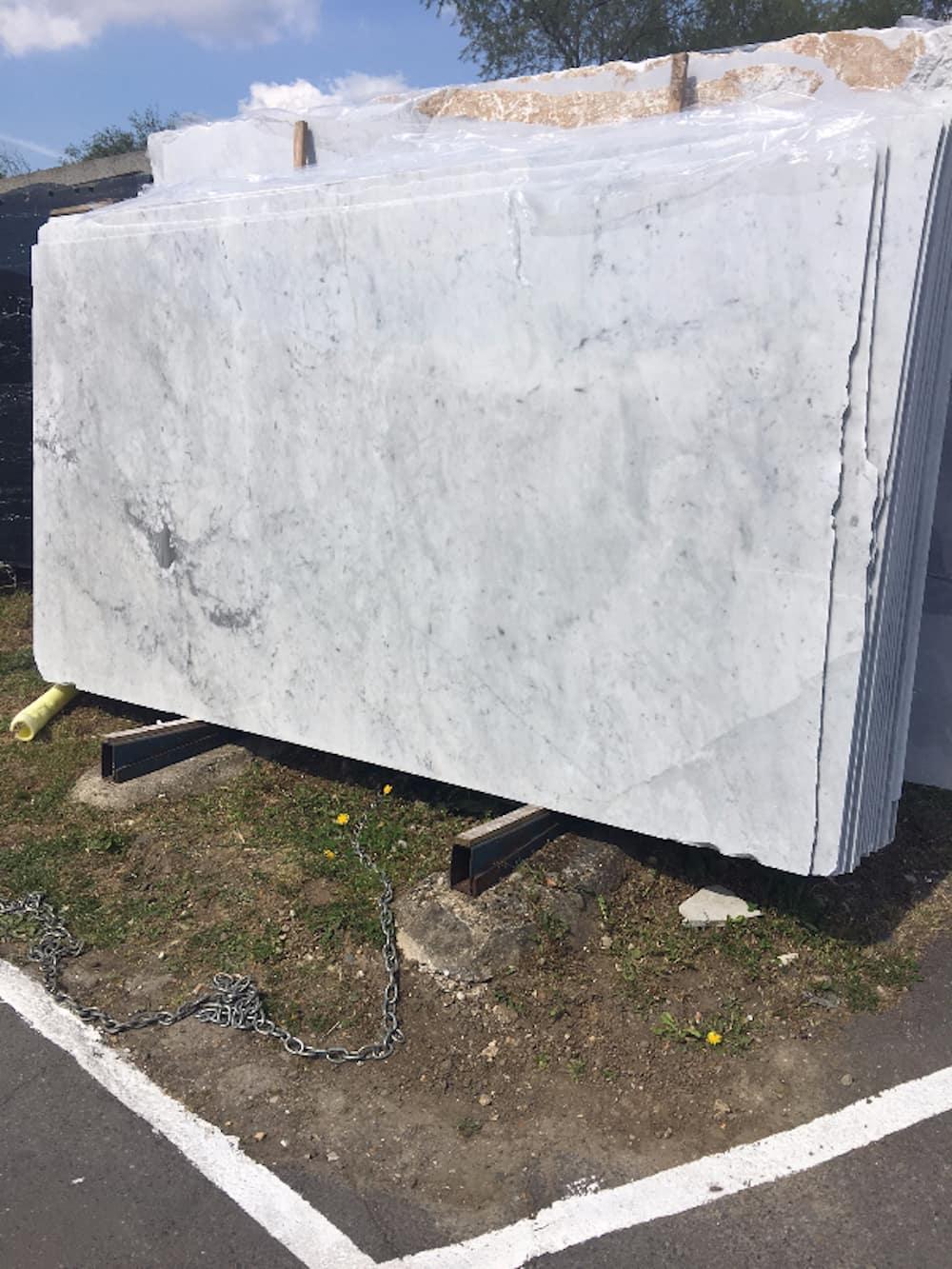 Carrara Marble Slabs - Imperial Marble & Granite Importers