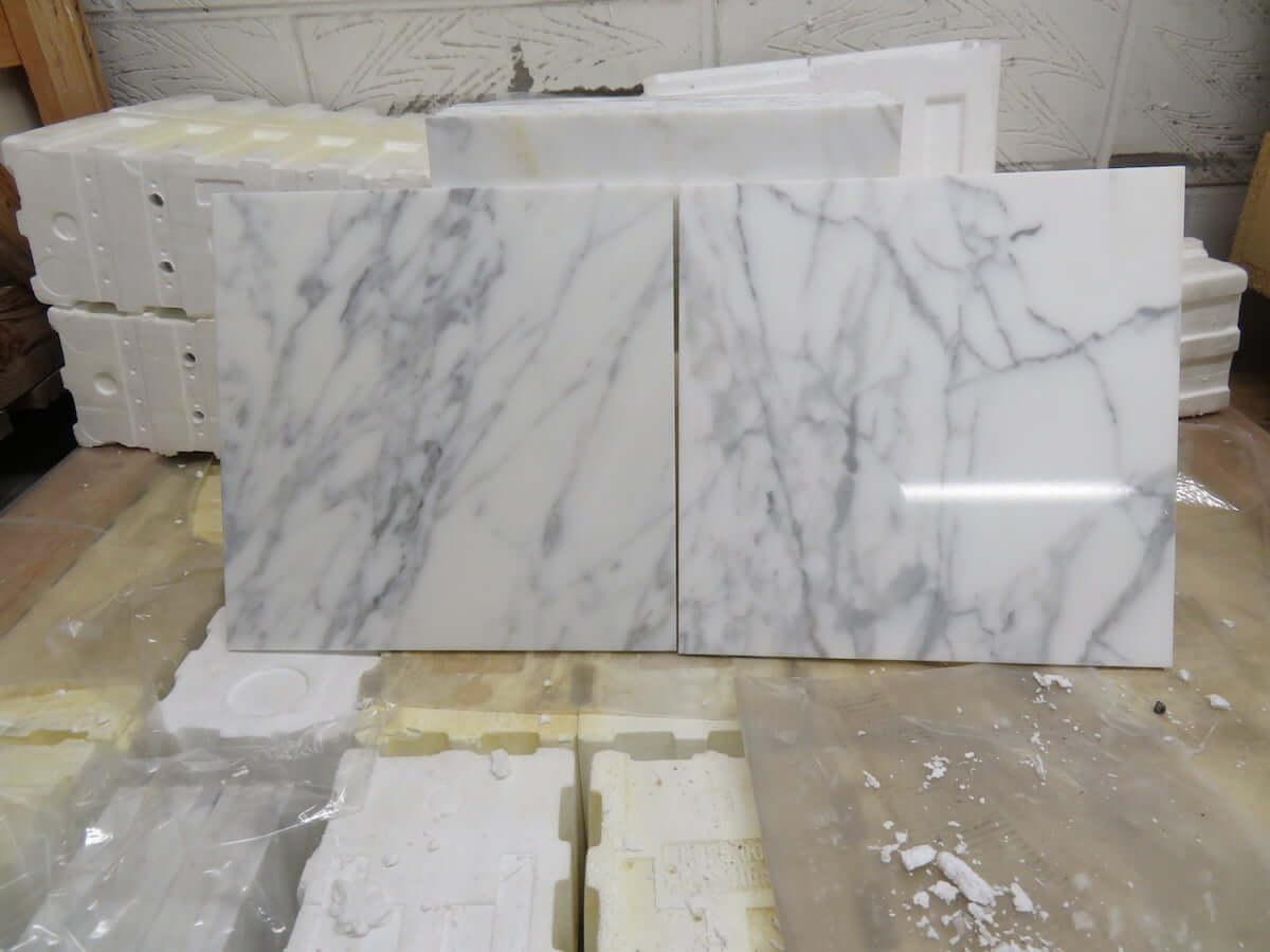 Statuario Marble Tiles 305x305