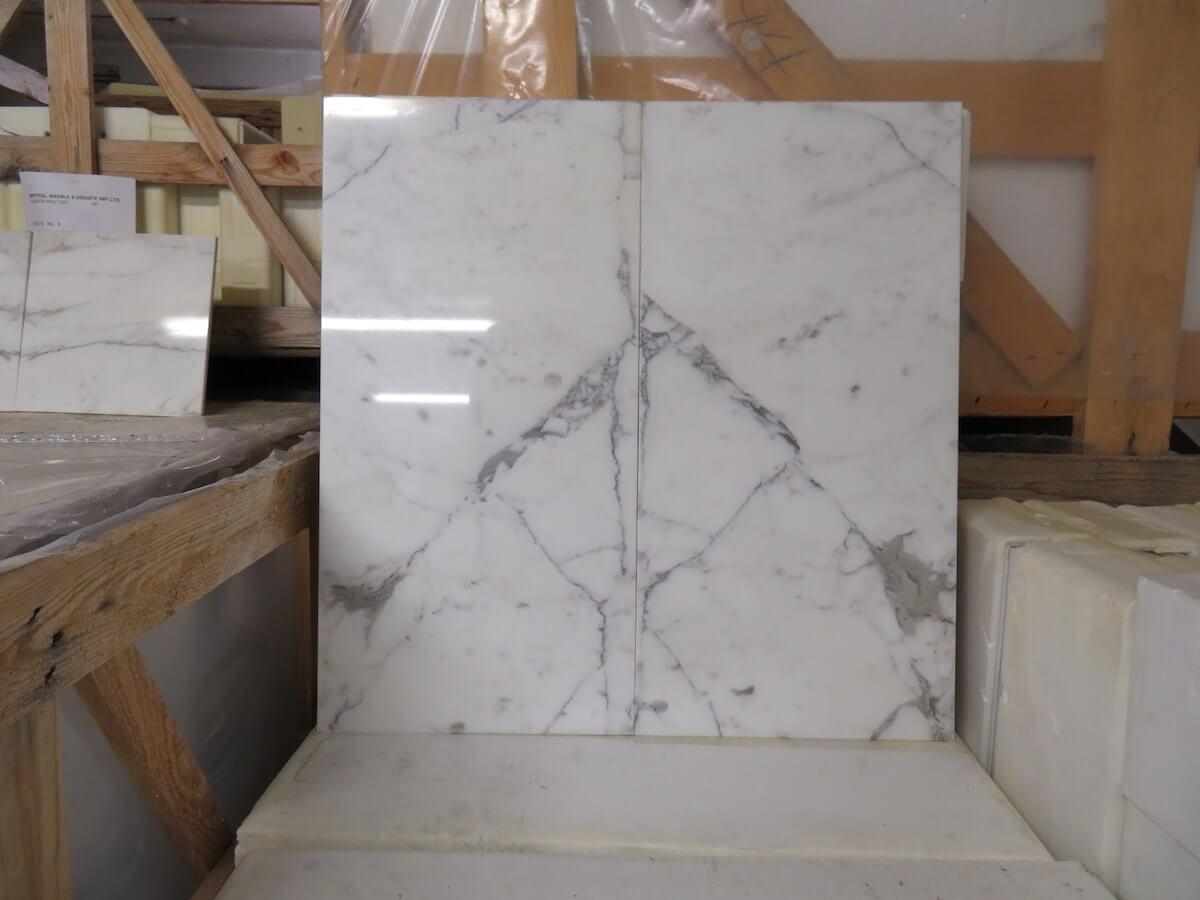 Statuario Marble Tiles 610x305