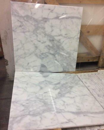 Statuario 610x610 Marble Tiles