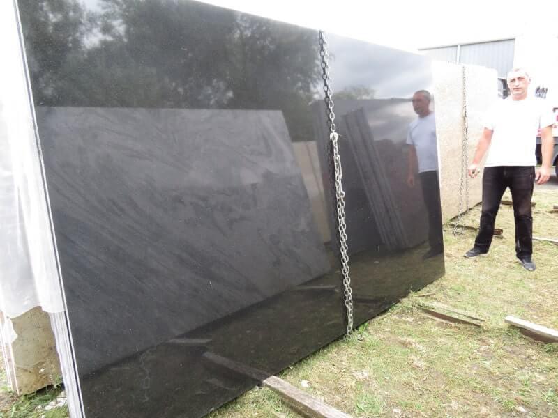 Absolute Black Granite Slabs for Sale in London
