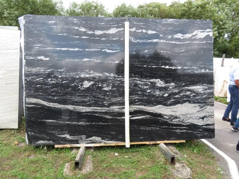 Black Forest Granite Slabs from London Supplier
