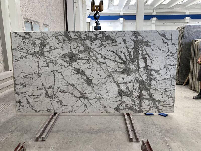 Invisible Grey Porcelain Slabs are the ideal stone for indoor use