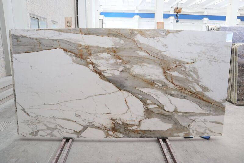 These Beautiful Macchia Vecchia porcelain slabs are perfect for a kitchen or bathroom