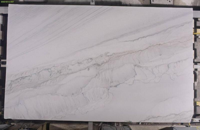 Calacatta Macaubas quartzite slabs 3cm