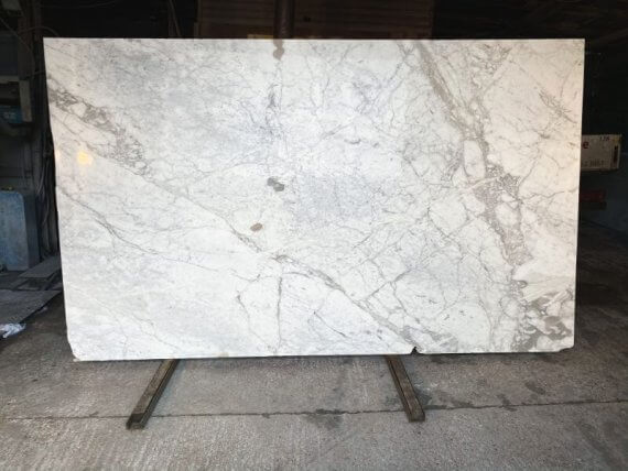 Calacatta Vagli marble slabs stone from our London premises
