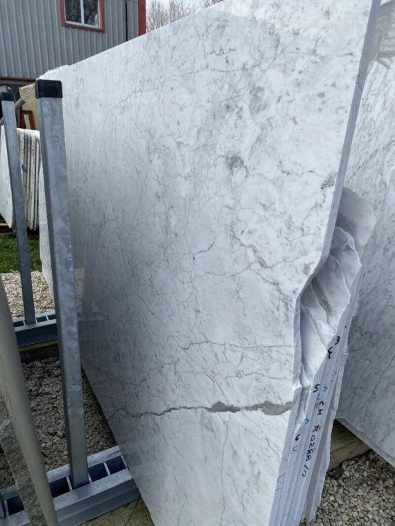 Carrara marble slabs