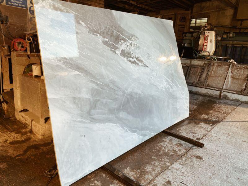 Palissandro Bluette marble slabs 2cm