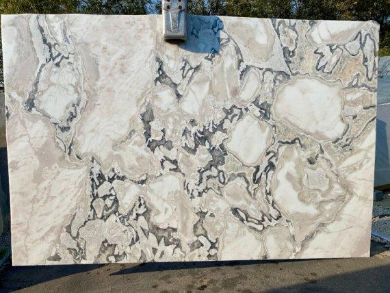 Dover White Quartzite Slab