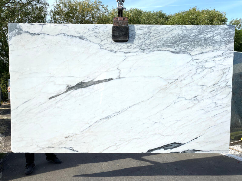 Statuario Corchia Marble Slab