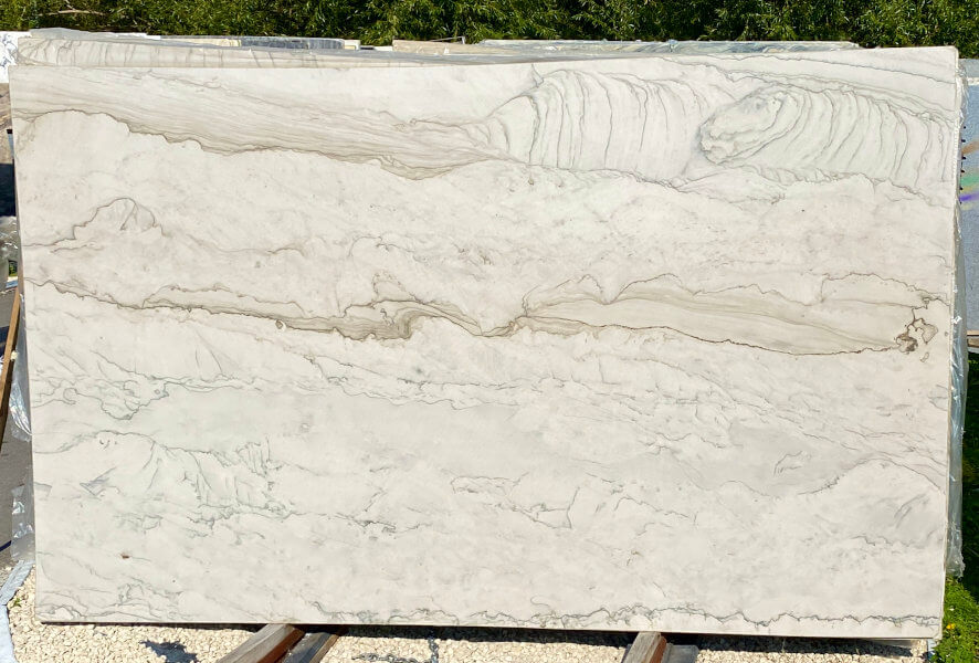 White Macaubas Quartzite Slab
